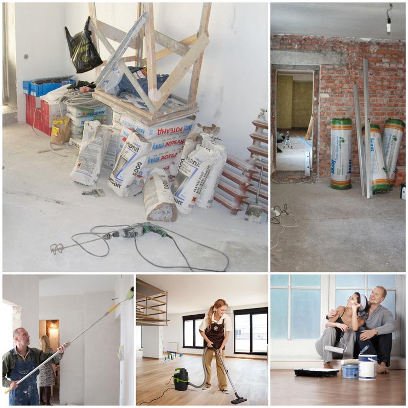 Как сделать ремонт в своей квартире