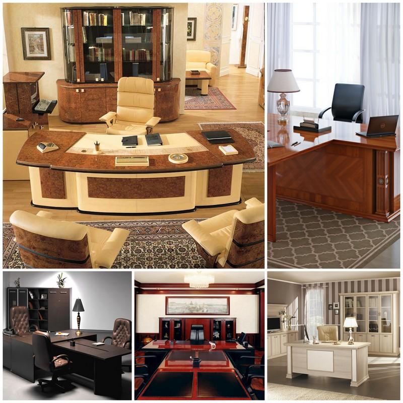 Мебель для кабинета руководителя - самая важная роль в имидже компании