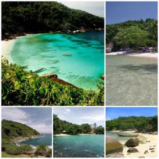Пляж Парадайз в Тайланде - райское место с ровным пляжем