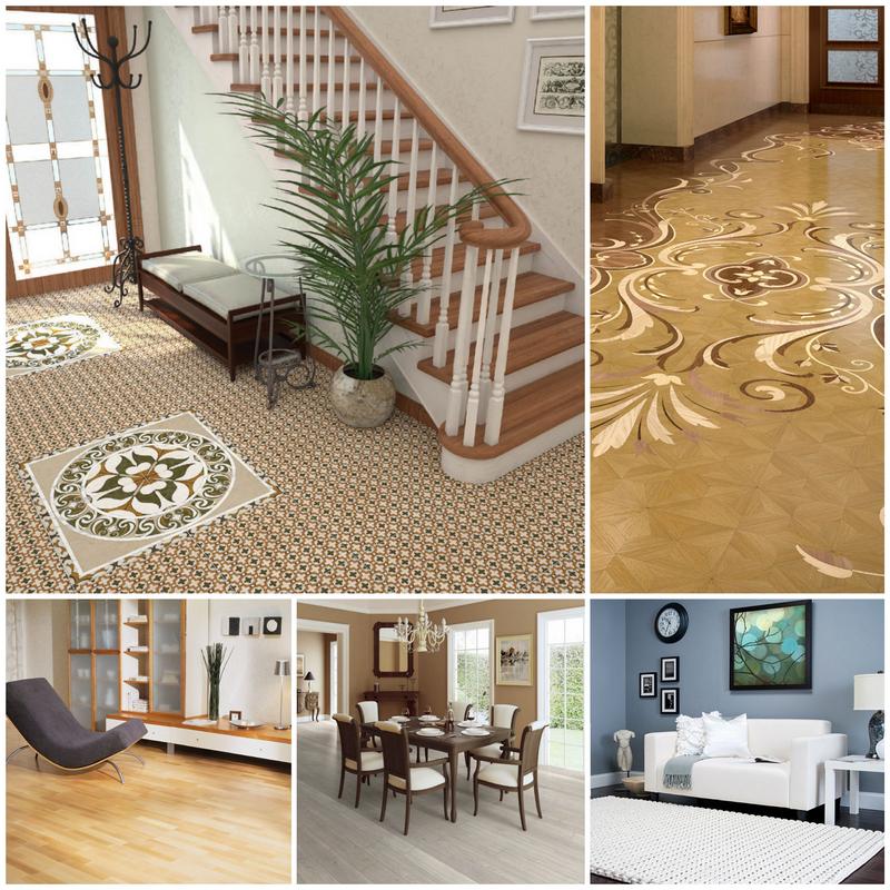 Современные напольные покрытия для дома - плюсы и недостатки