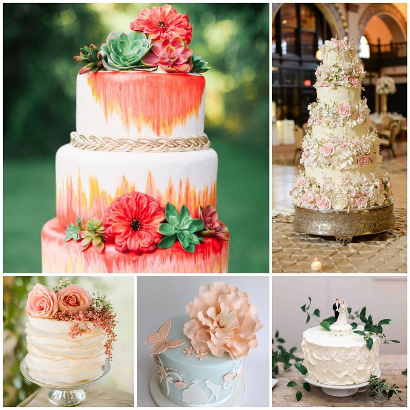 Свадебный торт - правила выбора