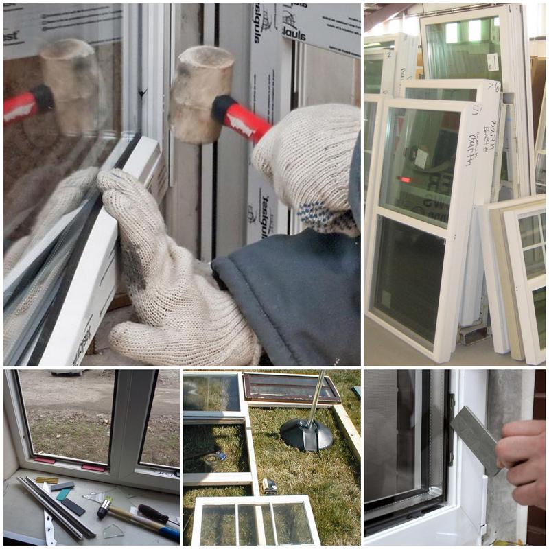 Замена стекла в окне - гид потребителя