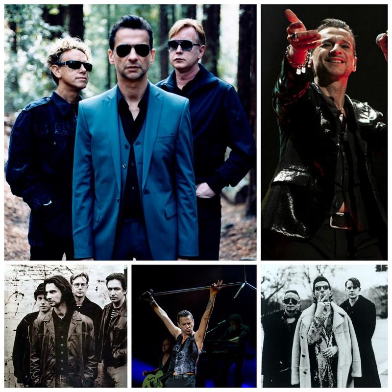 depeche mode хиты слушать