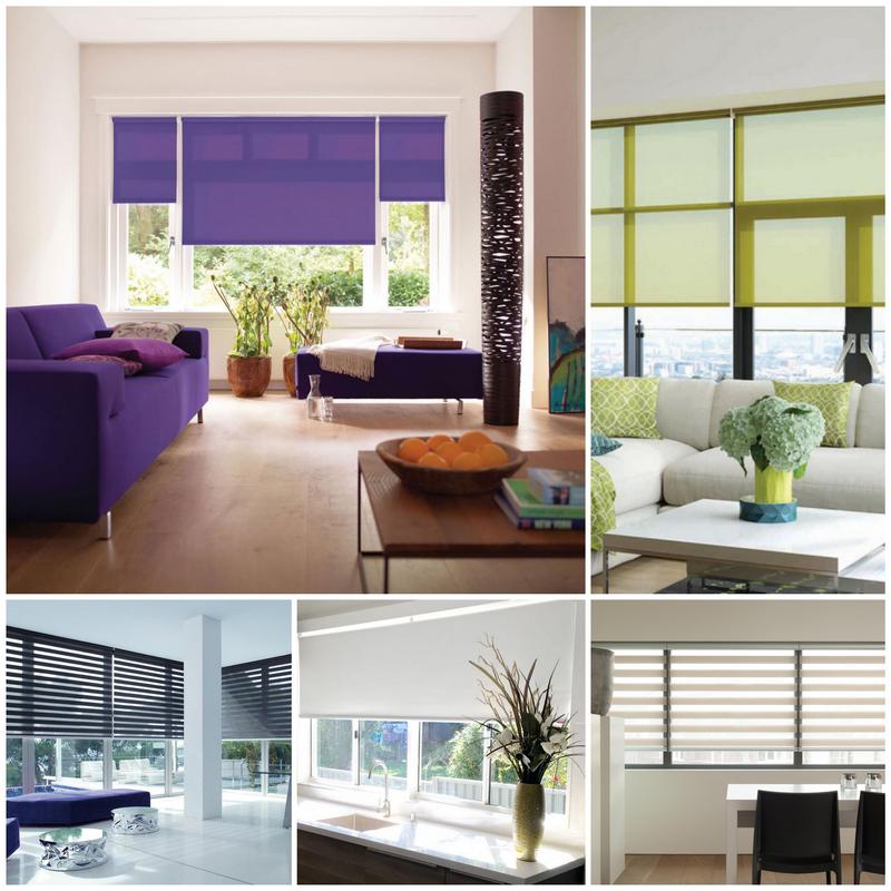 Рулонные шторы и их возможности в дизайне помещений