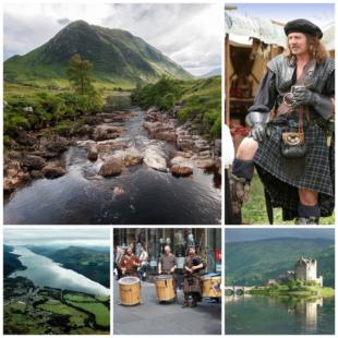 Шотландия — любимица туристов всей планеты
