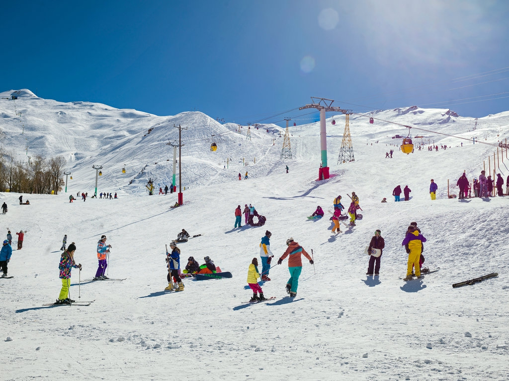 Дизин - популярный горнолыжный курорт