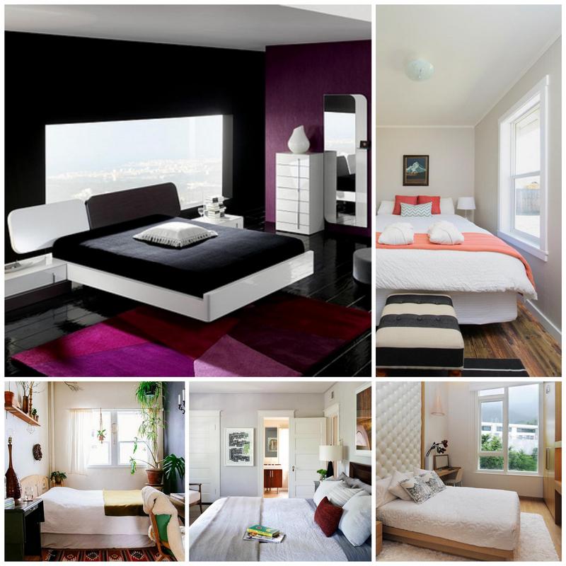 Как можно изменить интерьер маленькой спальни