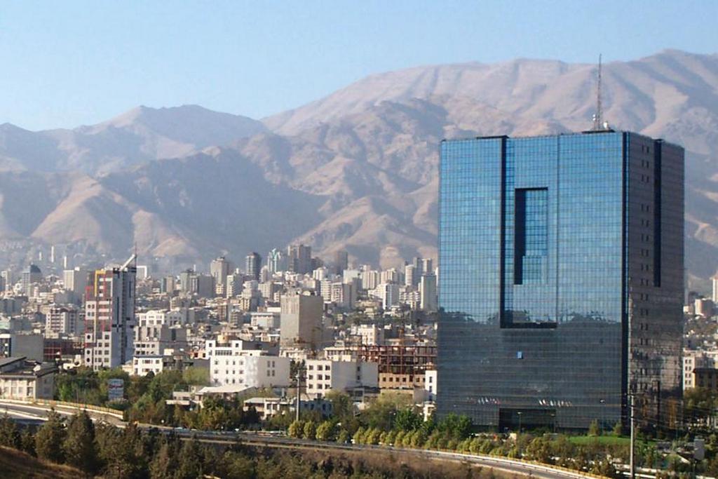 Центральный банк в Тегеране