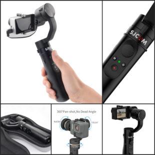 Стабилизатор для экшн-камер Sj Gimbal - знакомимся с новинкой