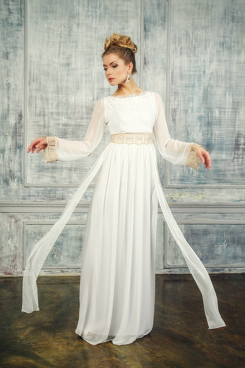 Заглянем под юбку свадебного платья, девушка рисунок профиль