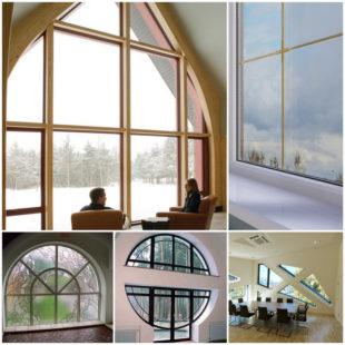 Как превратить металлопластиковые окна в элемент интерьера
