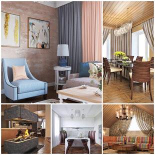 5 примеров дизайна интерьера загородного дома