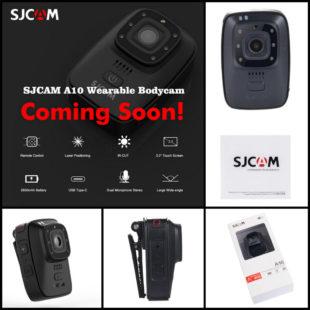 Экшн-камера SJCAM A10 - cтильно и функционально