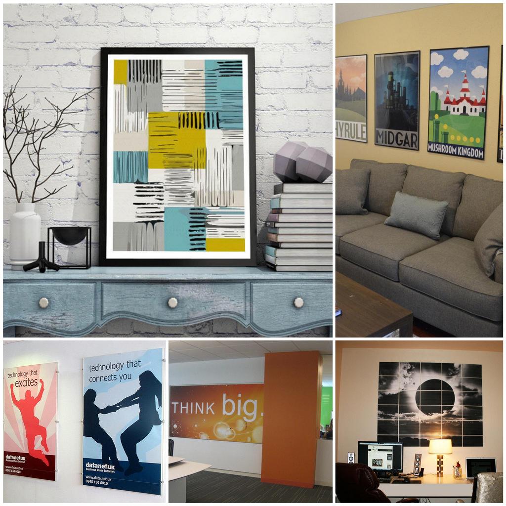 Постеры на стену в офис – сделаем рабочие будни ярче