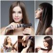 Как выпрямить волосы утюжком и не нанести им вред 9