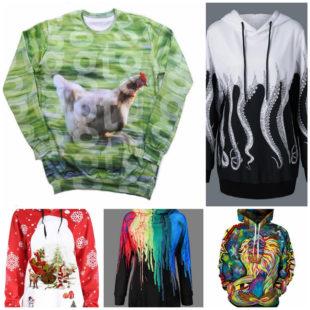 Модная одежда с индивидуальным стилем – печать на толстовках