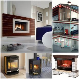 Печь-камин с водяным контуром - альтернативные источники тепла в современном доме