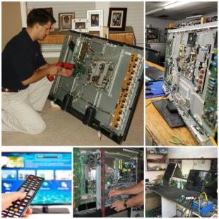 Ремонт телевизоров - особенности ремонта LCD и ЖК-телевизоров