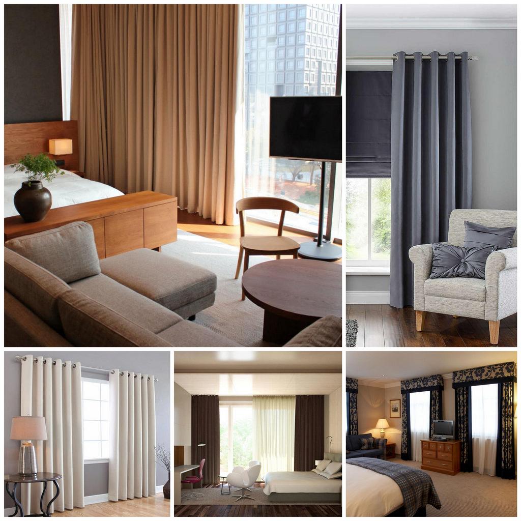Элитные шторы для гостиниц - залог успешной работы