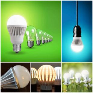 Светодиодные лампы LED - экономим на освещении