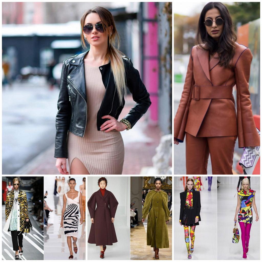 Женская одежда - самые актуальные весенние тренды