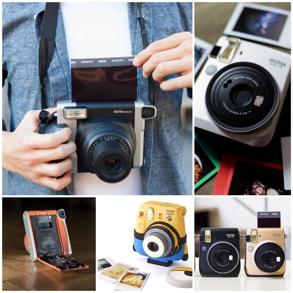 Камеры мгновенной печати Fujifilm Instax – сохраните яркие воспоминания