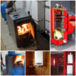 Отопление дома: газовый котел VS твердотопливный котел