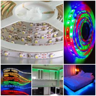 Светодиодные ленты – особенности и использование