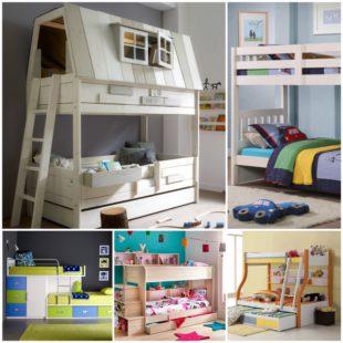 Двухъярусная кровати в детской комнате - плюсы и минусы