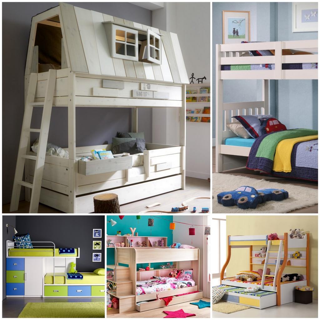 Двухъярусные кровати для детской, в которых захочется поспать даже взрослым | 1024x1024