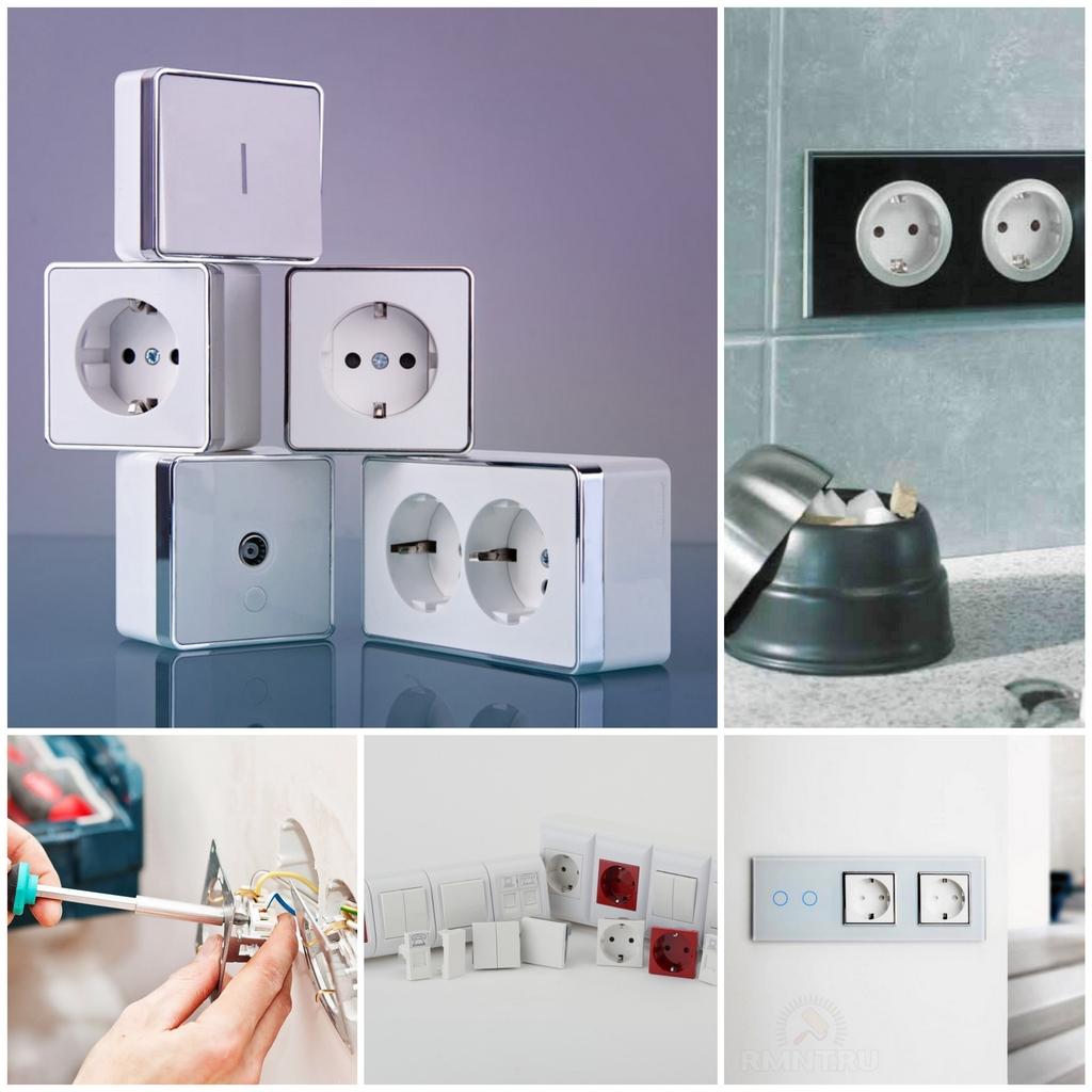 Электрофурнитура для дома: особенности покупки розеток, выключателей