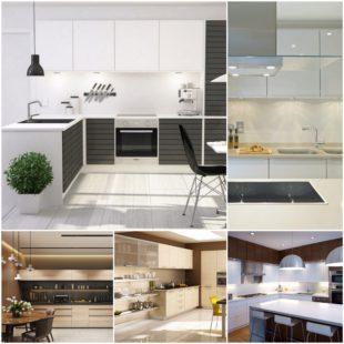 Кухни в стиле модерн - универсальный вариант