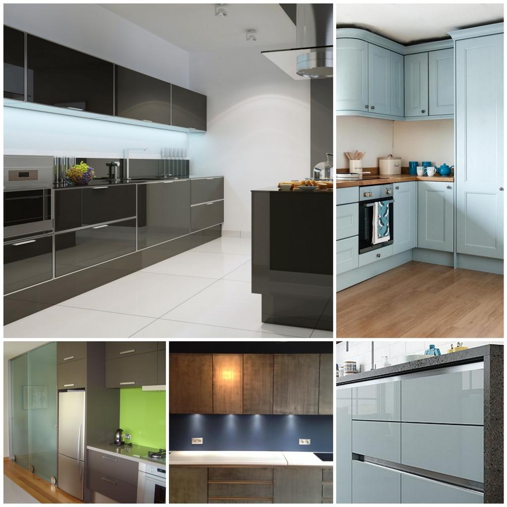 Кухонные фасады - наряд для вашей кухни