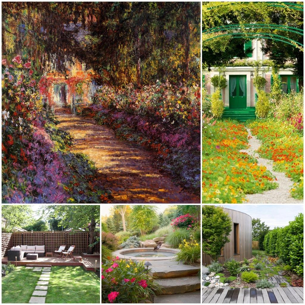 Влияние искусства и трендов на садоводство
