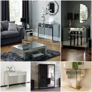Зеркальная мебель в интерьере - расширяем пространство