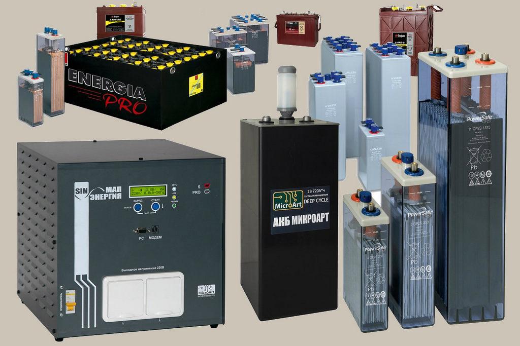 аккумуляторы для солнечной батареи