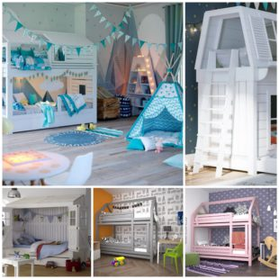 Кровати домики для девочек особенности и преимущества