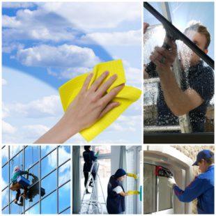 Мытье окон - полезная услуга улучшающая самочувствие