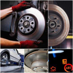 Неисправности тормозной системы автомобиля и методы их обнаружения