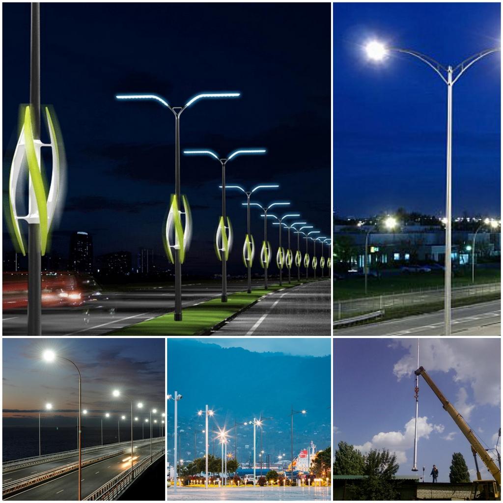 Опоры городского освещения преимущества, конструктивные особенности изделий