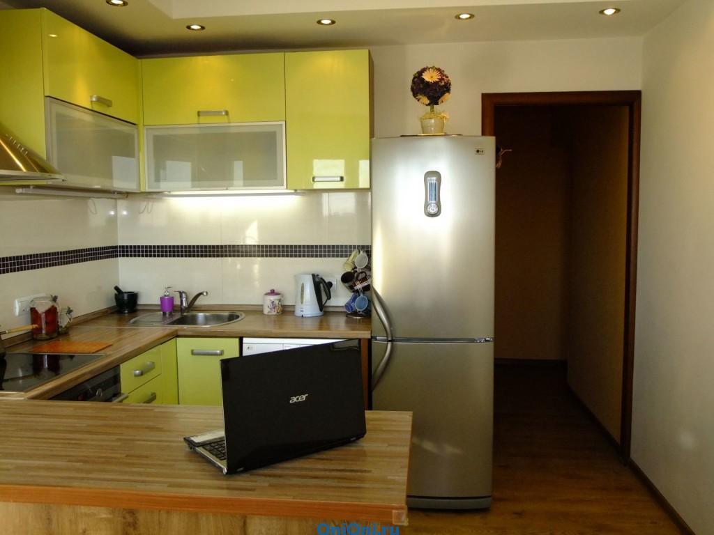 Освещение небольшой кухни