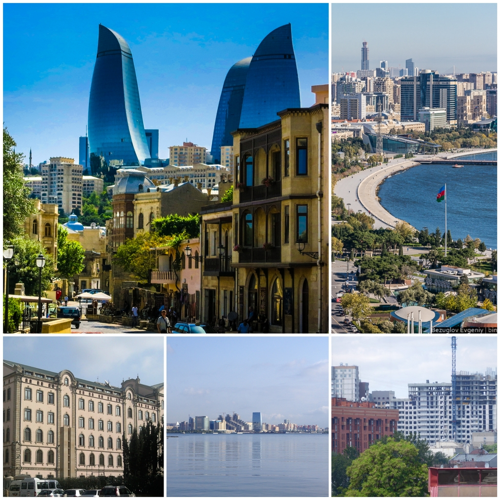 Баку - столица солнечного Азербайджана