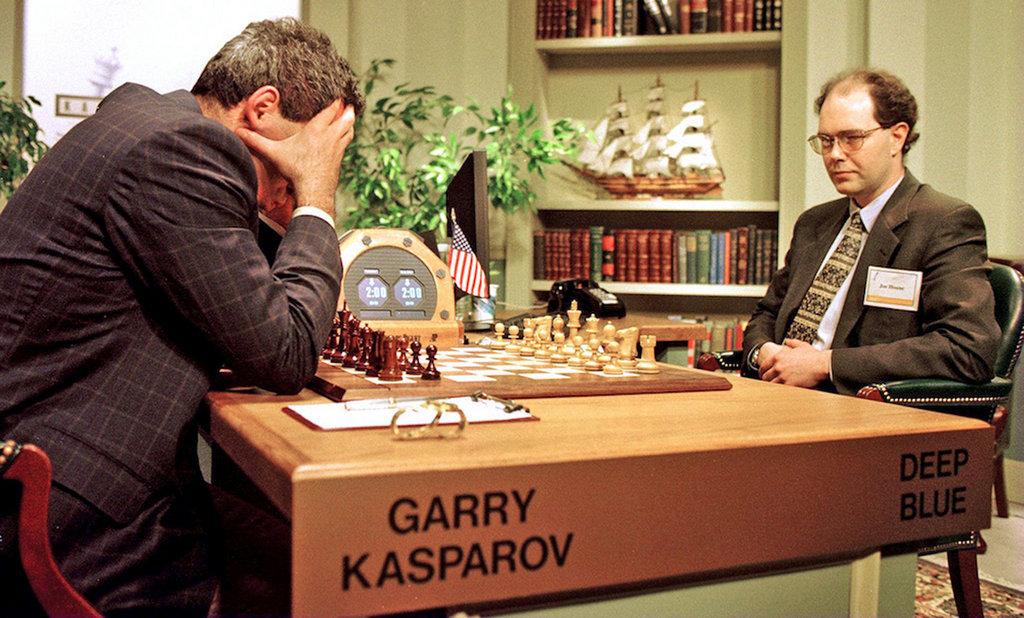Каспаров и Deep Blue в 1997 году