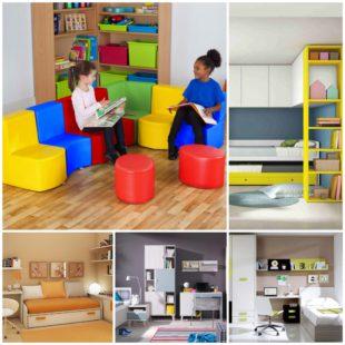 Детская модульная мебель - функциональность и отличное качество