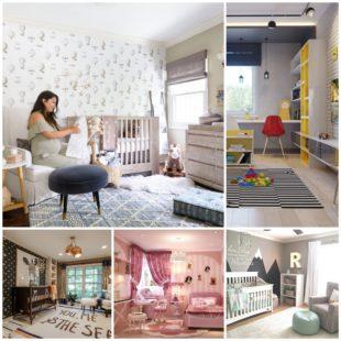 Интерьер детской комнаты - основные моменты дизайна