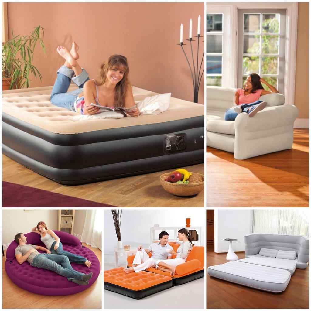 Как выбрать надувную кровать - гид потребителя