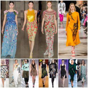 Модные платья сезона «осень-2018»