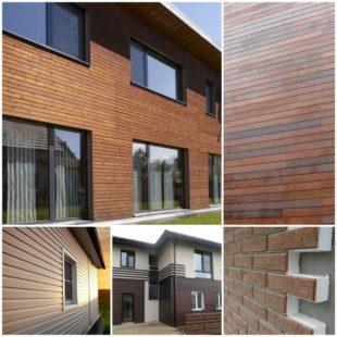 Отделка фасада деревянного дома: дерево, планкен, вагонка, сайдинг