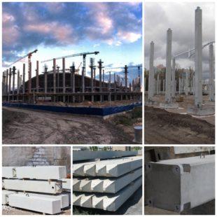 Железобетонные колонны: изготовление, особенности