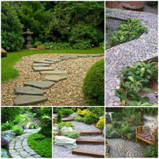 8 самых популярных видов садовых дорожек